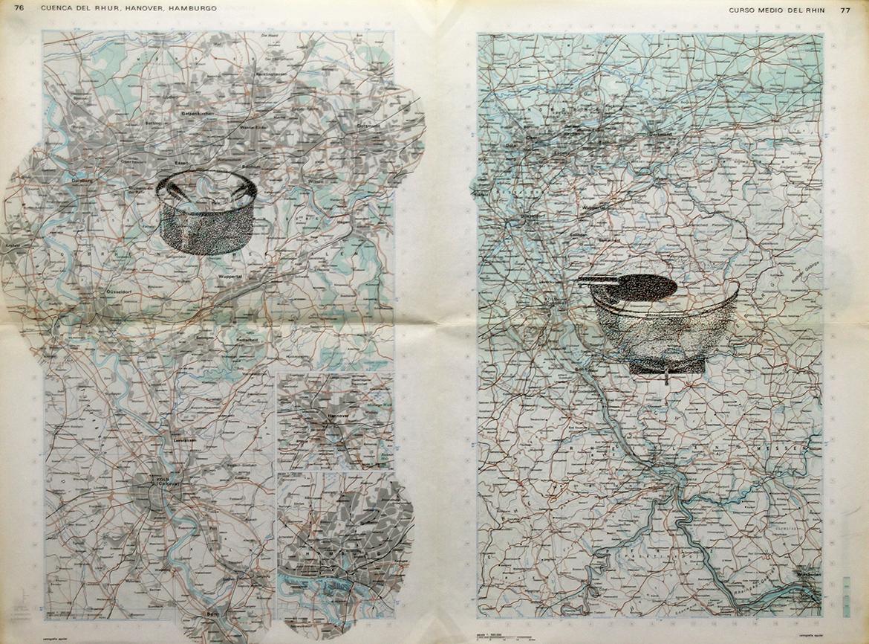 Gonzalo-Elvira.-M.-Brandt.-2015.-Tinta-sobre-mapa.-47-x-63-cm