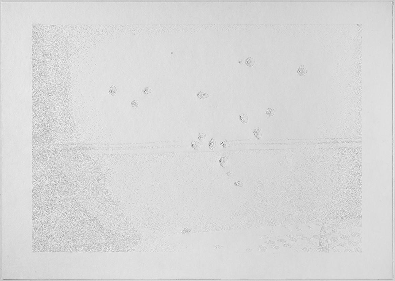 Gonzalo-Elvira-Asaig-016-2012-papel-perforado-con-guja-y-martillo-50-x-70-cm