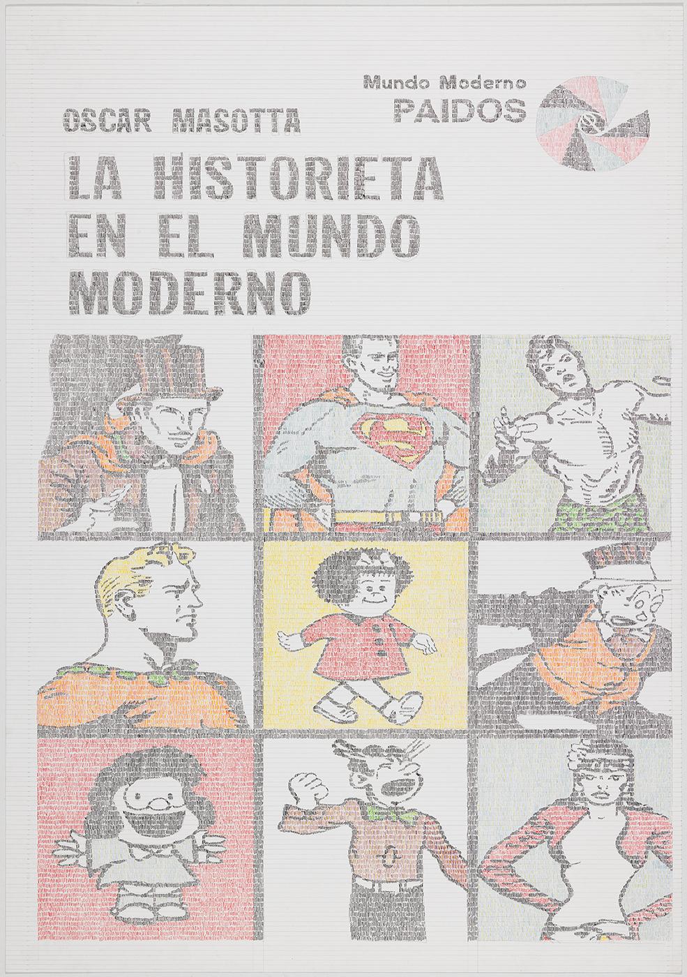 Gonzalo-Elvira-La-historieta-2017-Tinta-sobre-papel-100-x-70-cm